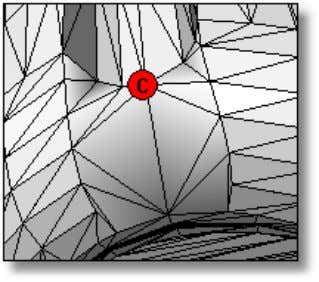 expands around the entire hole edge and fills the hole. Remove Geometry by Feature In some