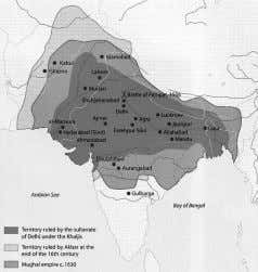 Delhi Sultanate was absorbed by the emerging Mughal Empire. Deccan sultanates The Deccan sultanates were five