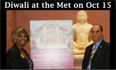 Diwali at the Met on Oct 15