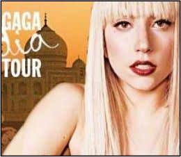 New Delhi: Pop diva Lady Gaga is all set to make her India debut on October
