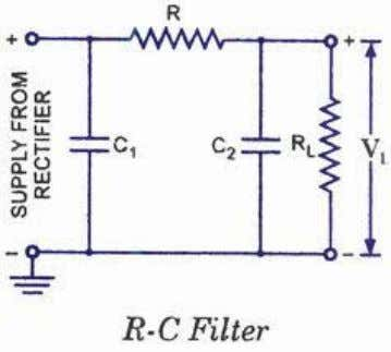 each section reduces the ripples by a factor of at least 10.  REGULATION IC 723
