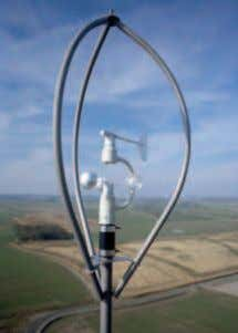 and stator ensure dependable annular generator operation control system Wind sensor on an ENERCON wind turbine