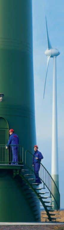 48 More than 2,500 ENERCON Service technicians worldwide provide a high degree of technical availability