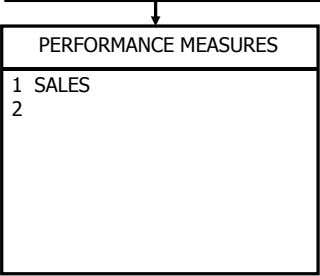 PERFORMANCE MEASURES 1 SALES 2