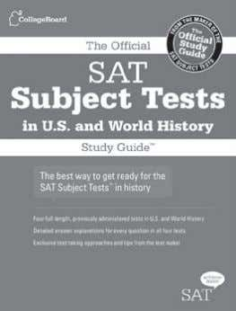 to expect on test day Order today at store.collegeboard.org The Official SAT Subject Tests in U.S.