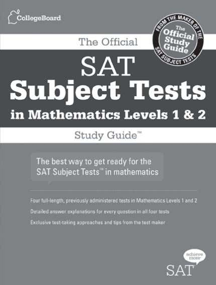answer sheet so you know exactly what to expect on test day The Official SAT Subject