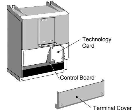 Technology Card Control Board Terminal Cover