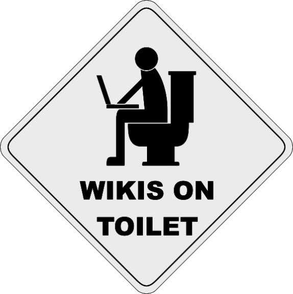 108 Chapter 4 Figure 4.10 Wikis on Toilet (image taken from http://upload.wikimedia.org/wiki