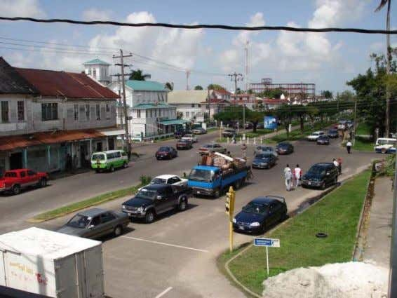 and Management Plans for fifty intersections in George Town Photo 5.3 Camp street Church street and