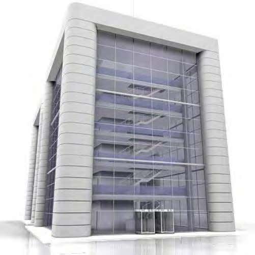 Summary application • Building – 6 x 2 floors + 2 – Roughly 15,300m 2 (