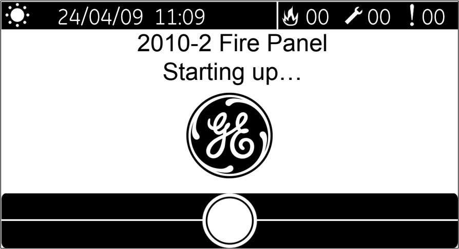 2010-2 Fire Panel Starting up…