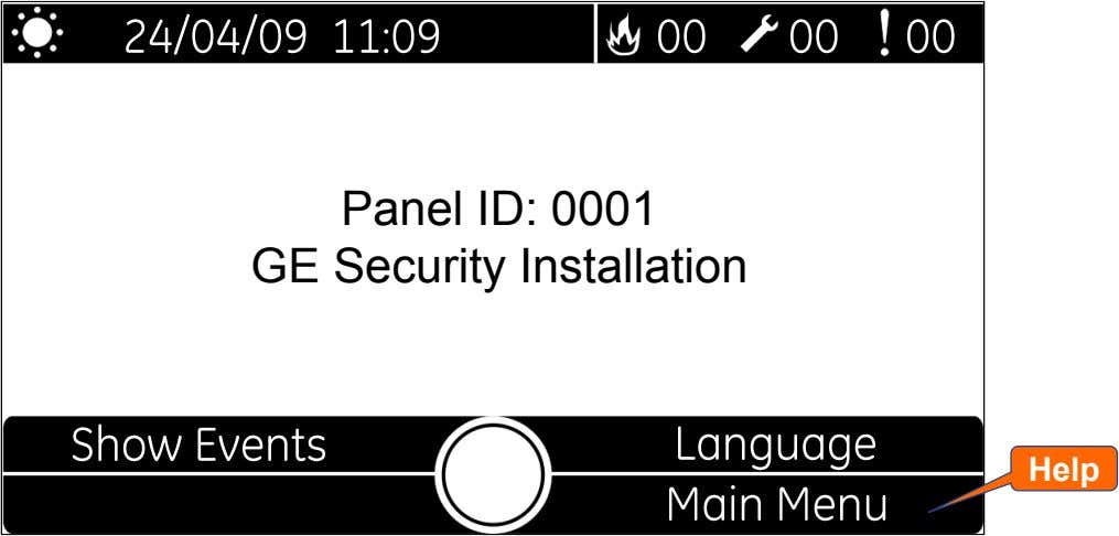 Panel ID: 0001 GE Security Installation Help