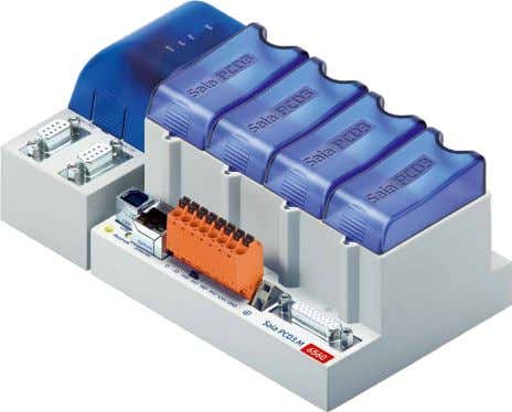 Saia PCD3.M6560 Profibus DP Master, Ethernet – Controller SAIA BURGESS CONTROLS Profibus DP is a well