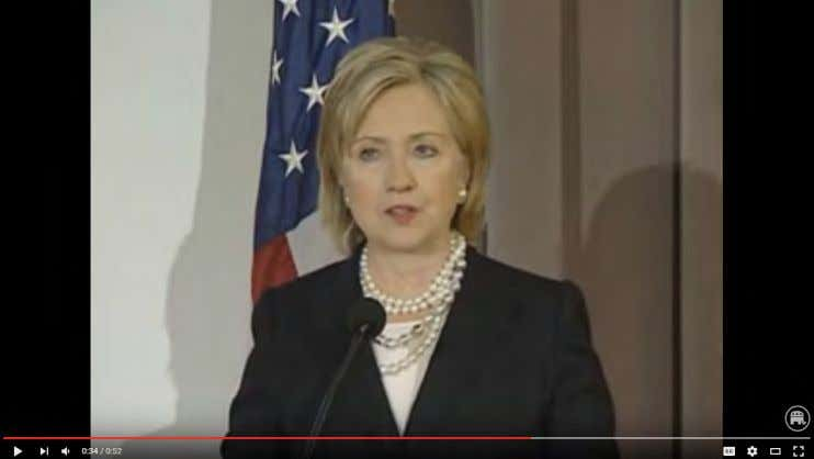 Briefing Series Meeting , Washington, DC, 12/11/09) Click To Watch • Clinton Added That She Was