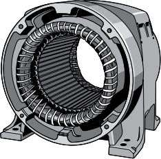 Recall.that.the.stator.of.an.AC.motor.is.a.hollow. The.following.diagram.shows.the.electrical.configuration.of.