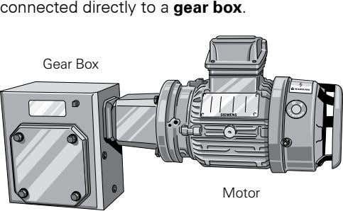 connected.directly.to.a.gear box. Gear Box Motor