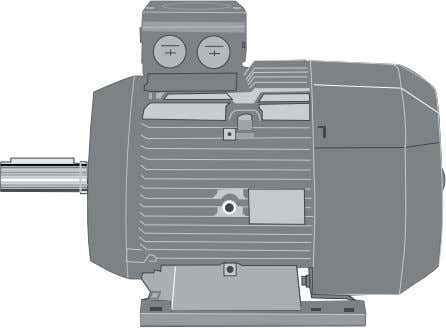 summarize.the.IEC.low.voltage.motor.types.available. Siemens. IEC Standard motors .are.characterized.by.their