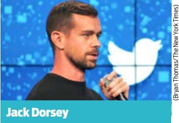 Jack Dorsey (Bryan Thomas/The New York Times)