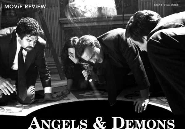sony pictures MOViE REViEW ANGELS & DEMONS