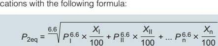 cations with the following formula: 6.6 X I X II X n 6.6 + P