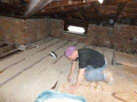 Hemping Columbia County Installing Green Insulation in an Historic Hudson River House 38 © 2014 Green