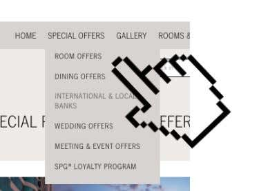 the book now button to complete their reservation using the offer. Image 1.13 Special Offers selections