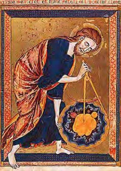 Early science such as geometry and astronomy was connected to the divine for most medieval