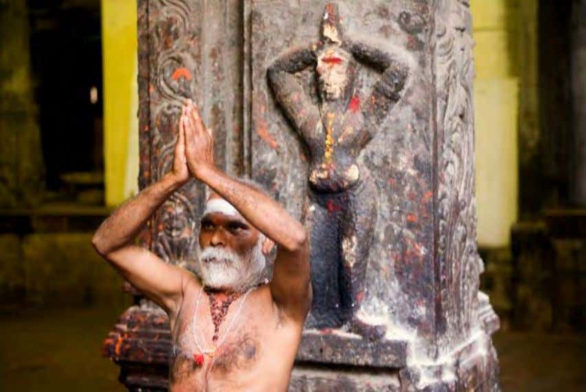Spirituality A sadhu performing namaste in Madurai, India Members of an organized religion may not see