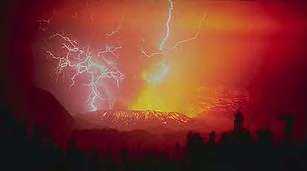 Lightning strikes during the eruption of the huge Galunggung volcano in 1982 Nature , in
