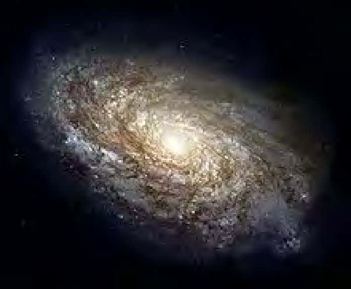 for their specific values remains a mystery. Beyond Earth NGC 4414 , a typical spiral galaxy