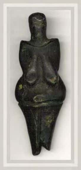 Paleolithic Artistic expression appeared in the Upper Paleolithic: The Venus of Dolní V ě stonice figurine,