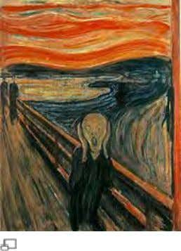 Existentialism Edvard Munch's The Scream , a representation of existential angst. Each man and each woman