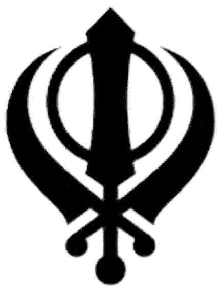 Sikhism The Khanda, an important symbol of Sikhism. The monotheistic Sikh religion was founded by Guru