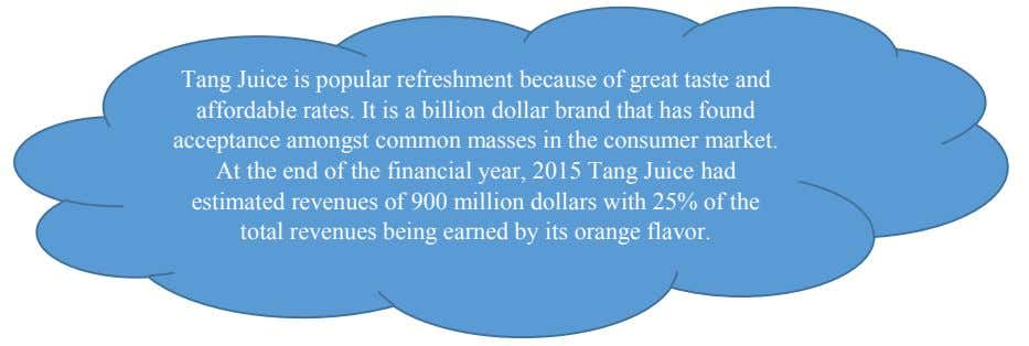 Tang Juice is popular refreshment because of great taste and affordable rates. It is a