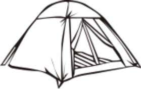 tent is the quintessential artifact to camping. It is a Figure 2 – Basic tents are