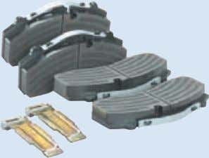 345), Tourino Bremsklotzsatz Brake shoe set Citaro (O 530) Teilenummer Teilenummer Parts No. A 629 500