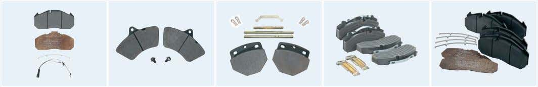 Bremsklötze Brake pads Omnibus Bezeichnung Teilenummer Bus Description Parts No. TopClass 200