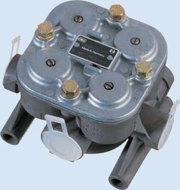 Bremsventile Brake valves Omnibus Bezeichnung Teilenummer Bus Description Parts No. TopClass 300,