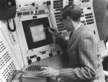CADD (1966), Ford PDGS (1967) and Lockheed CADAM (1967). Figure 1: Ivan Sutherland and his sketchpad