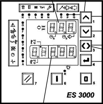 "by turning 2 - Electronic board model ""ES 3000"" Fig. 7 2 The electronic panel contains"