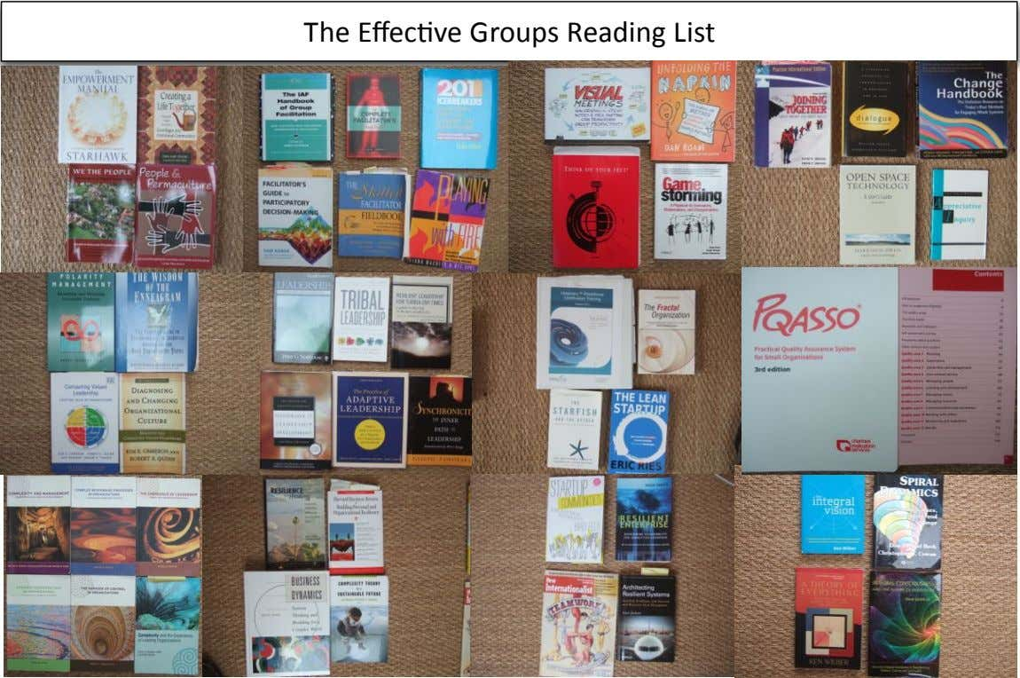 The$Effec(ve$Groups$Reading$List