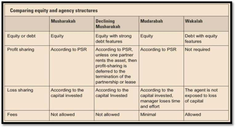 Figure 3 -- comparing equity and agency structures 3.2. Debt-Based Financing Techniques These contracts can