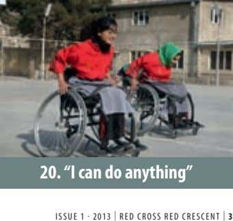 "20. ""I can do anything"" . ISSUE 1 2013 