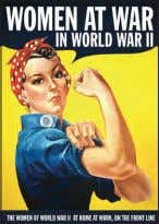 and any equipment, and create a roof overhead with the 167 Women At War in World