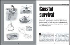 "Survive at Sea 240 x 189mm (9½ x 7½"") 192pp 60,000 words 120 b/w artworks ISBN:"