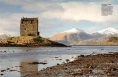 Castle Stalker, Loch Linnhe, Argyll, Scotland One of the best preserved medieval tower houses in