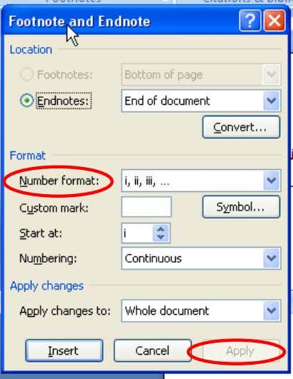 the format that you want. To use a custom mark instead of a traditional number format,