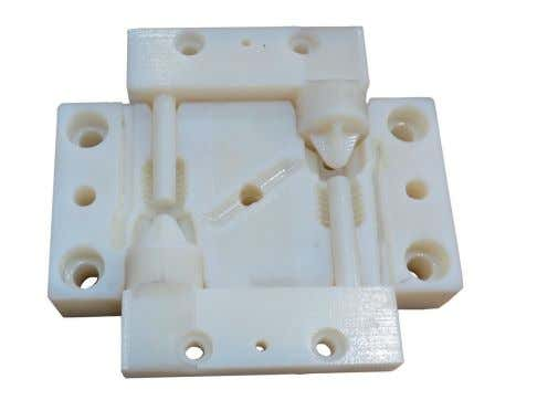 TECHNICAL ESSAYS 2/ Cavity part 3/ Sealing plug prototypes with sprue K3500/… and a mould insert