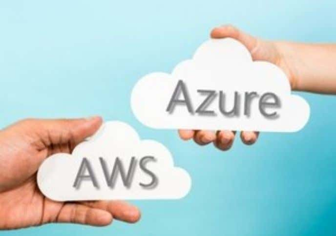 Azure and AWS Compared Shutterstock Is your enterprise considering moving to cloud-based Infrastructure as a Service?