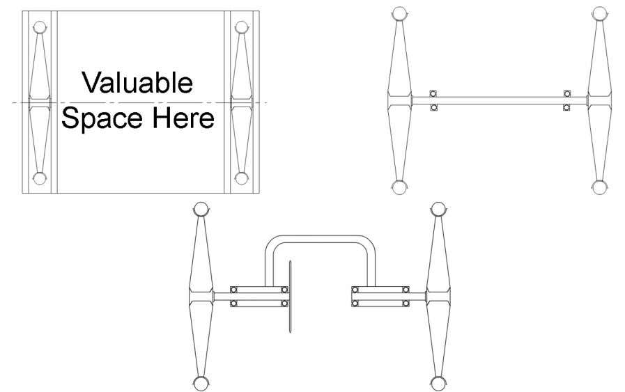 tensile steel e.g. EN8 or EN24 Rear Axle Options: Correct tracking and alignment is essential. Manufacture
